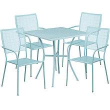 """28"""" White Table w/ 4 Seats, 8811911"""