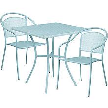 """28"""" White Table w/ 2 Seats, 8811912"""