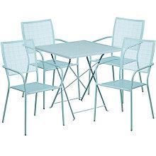 """28"""" White Table w/ 4 Seats, 8811915"""