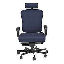 Fabric 24/7 Intensive Use Ergonomic Chair with Headrest, 8813785