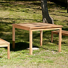Teak Square Table, 8822045