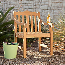Grayson Teak Arm Chair, 8820780