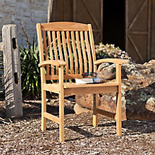 Waverly Teak Arm Chair 2pc Set, 8821991