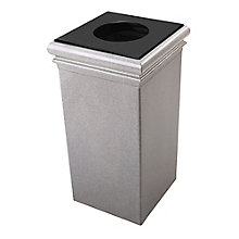 30 Gallon Square Waste Receptacle, 8822759