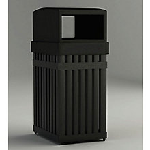 25 Gallon Waste Receptacle with Rectangular Opening, 8822764