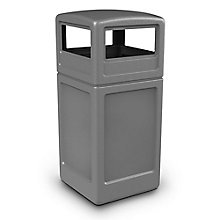 Dome Lid Waste Receptacle - 42 Gallon, 8822816