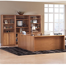 Contemporary Oak Complete Office Set, 8804346