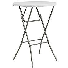 White Plastic folding table, 8811957