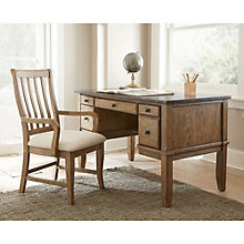 "Debby Bluestone Top Writing Desk - 52""W, 8807706"