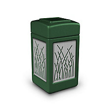 Waste Receptacle with Reed Design - 42 Gallon, 8822741