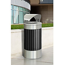 25 Gallon Canopy Top Waste Receptacle, 8822839