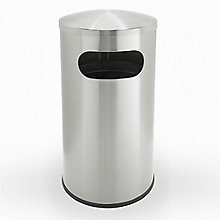 Stainless Steel Waste Receptacle - 15 Gallon, 8822858