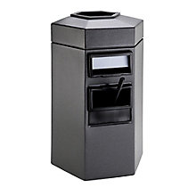 45 Gallon Waste Receptacle with Windshield Wash Station, 8822877