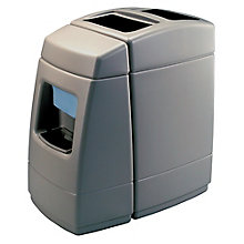 55 Gallon Waste Receptacle with Windshield Wash Station, 8822880