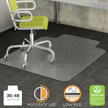 "Commercial Chair Mat with Lip 36""W x 48""D, 8822249"