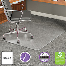 "Big and Tall Chair Mat 36""W x 48""D, 8822238"