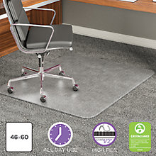 "Big and Tall Chair Mat 46""W x 60""D , 8822241"