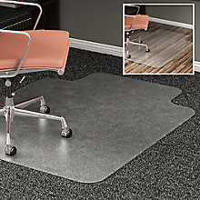 "All Surface Chair Mat with Lip 45""W x 53""D, 8822264"