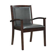 Bently Guest Chair in Faux Leather, DMI-01270