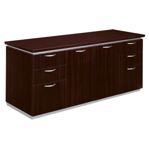 mocha storage credenza - pimlicodmi | officefurniture