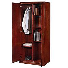 Sedona Cherry Double Door Storage and Wardrobe Cabinet, DMI-7302-06