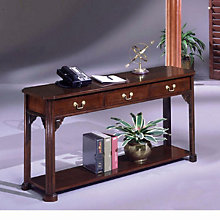 Traditional Mahogany Sofa Table, DMI-7350-82