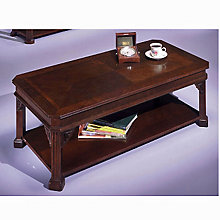 Traditional Mahogany Coffee Table, DMI-7350-84