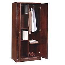 Oxmoor Merlot Cherry Storage/Wardrobe Cabinet, DMI-7376-06