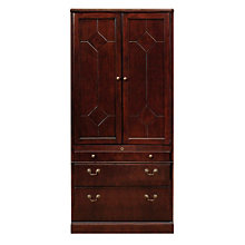 Oxmoor Merlot Cherry Lateral File Cabinet, DMI-7376-07
