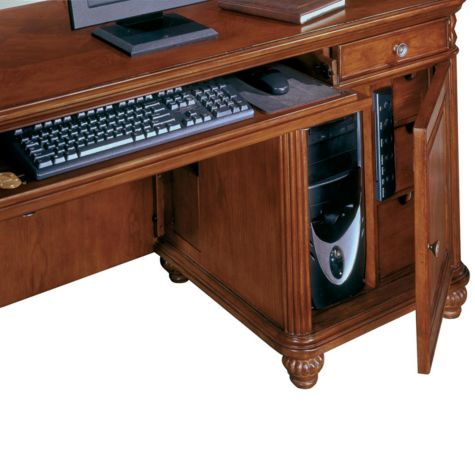 Tower cabinet with 3 media drawers