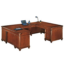 Antigua Executive Left U Shaped Desk, DMI-7480-58