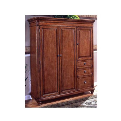 Armoire with doors closed