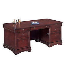 Double Pedestal Executive Desk, DMI-7684-36