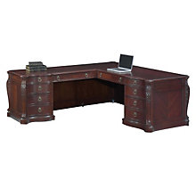 Balmoor Executive L-Desk with Left Return, DMI-7688-56