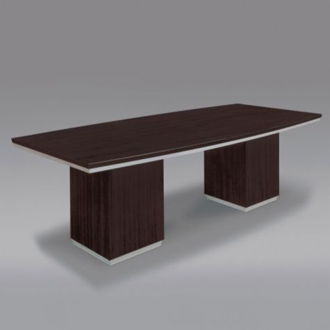 Table Shown is Boat Shaped