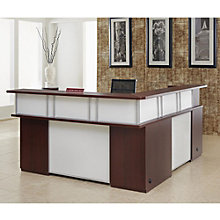"Causeway Left Reception Desk - 72""W, 8802131"