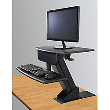 "Clayton Sit to Stand Desk Mount - 26.5""W, 8804459"
