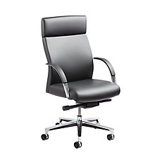 Executive Conference Chair in Leather and Faux Leather, 8814391