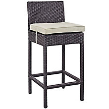 Outdoor Patio Fabric Bar Stool, 8805331