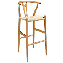 Wood Bar Stool, 8805379