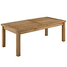 Outdoor Patio Teak Rectangle C, 8805432