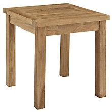 Outdoor Patio Teak Side Table, 8805433