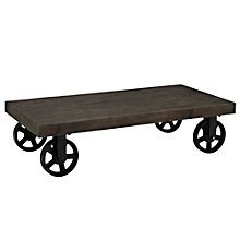 Wood Top Coffee Table, 8805460