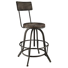 Wood Bar Stool, 8805467