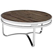 Wood Top Coffee Table, 8805468
