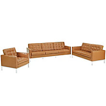 Armchair Loveseat and Sofa Set, 8805524