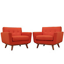 Armchair Wood Set of 2, 8805531