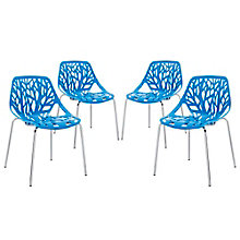Dining Side Chair Set of 4, 8805547