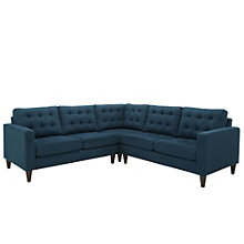 3 PC Fabric Sectional Sofa Set, 8805621