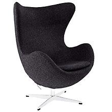 Wool Lounge Chair, 8805632